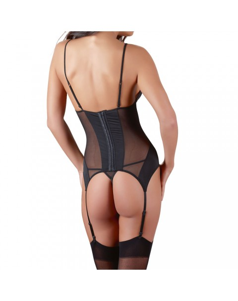 Cottelli Black baskiska Suspender Set