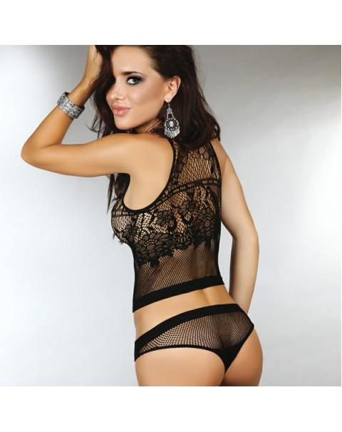 Corsetti Catarina Shirt And Panty Set UK Size 8 to 12