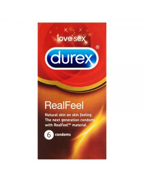 Durex Real Feel 6 Pack Condoms