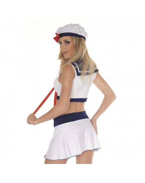 Sailor Outfit, Skirt, Top And Hat