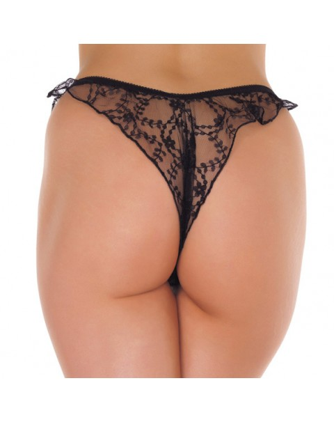 Brasilian Open Crotch G-String