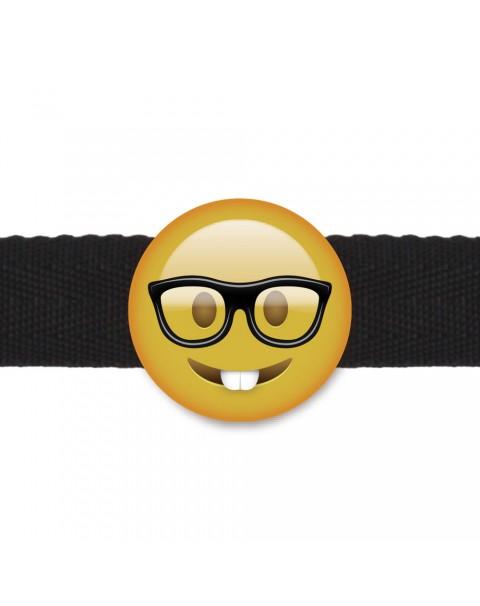 Emogag Nerd Emoji Gag-boll