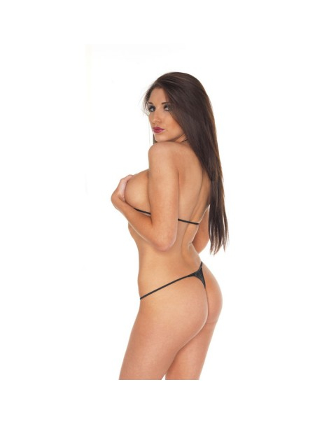 Leather Spider Bikini